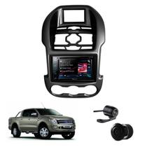Kit Central Multimidia Ford Ranger 12/15 + Camera + Moldura - Multi marcas
