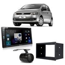 Kit Central Multimídia Fox 2008 a 2012 AVH-Z5280TV Pioneer + Moldura + Câmera -