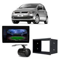 Kit Central Multimidia Fox 2008 a 2012 PST SP8730DTV Positron + Moldura + Câmera -