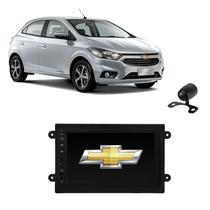 Kit Central Multimídia ONIX Mp5 / Mp8 + Moldura + Câmera + TV - Tay Tech