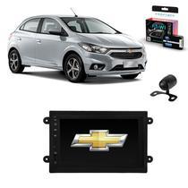 Kit Central Multimídia ONIX - Mp8 + Moldura + Câmera + Tv + Interface de volante - Tay Tech