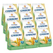 Kit Cereal Infantil Piracanjuba Crescer Multicereais 12x180g -