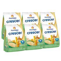 Kit Cereal Infantil Piracanjuba Crescer Multicereais 6x180g -