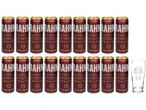 Kit Cerveja Brahma Duplo Malte Lager 18 Unidades - 350ml com Copo