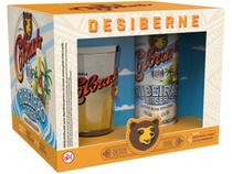 Kit Cerveja Colorado Ribeirão Lager - 4 Unidades 410ml com 1 Copo