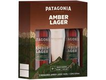 Kit Cerveja Patagonia 740ml 2 Unidades - com Copo