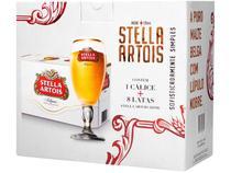 Kit Cerveja Stella Artois American Standard Lager - 269ml Cada 8 Unidades com 1 Taça