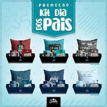 Kit Cesta Dia Dos Pais - Caneca / Almofada / Porta Retrato - SUDE