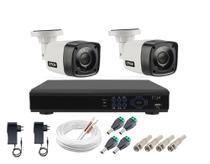 Kit Cftv 2 Câmeras Segurança 1mp 20m Dvr Full Hd 4 Ch S/ Hd - Citrox