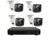 Kit cftv 4 Cameras Segurança 720p Full Hd Dvr Full Hd 4ch S/hd - Citrox