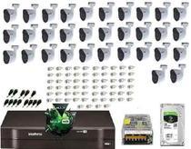 Kit Cftv Dvr 32 Canais Intelbras 1032 Hdcvi 32 Camera 1080p - Dvr Intelbrás