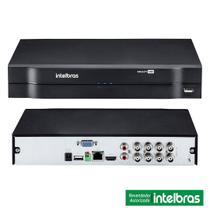 Kit Cftv DVR HD 6 Câmeras E DVR MHDX 1008 e HD 1TB - Intelbras