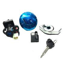 Kit chave ignição contato cg titan 150 2009 a 2013 - Panda