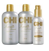 Kit CHI Keratin Ktrix (3 Produtos) -