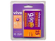 Kit Chip Vivo com Recarga R15,00 - para Todos os DDDs