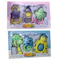 Kit chocalhos brinquedos musical para bebe infantil completo brinquedos gira gira para menina e menino - GIMP