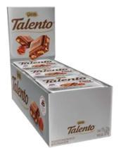 Kit chocolate talento diet  com avelãs caixa 15unx25g escolha o seu - Garoto -