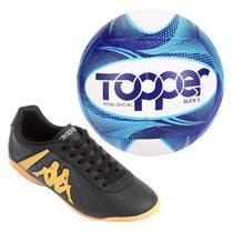 Kit Chuteira e Bola Futsal - Kappa