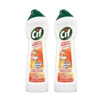 Kit Cif Creme Laranja 450ml 2 unidades -