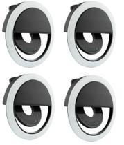 kit Clipe Anel Luz Pra Selfie Ring Light Flash Celular Universal - Guoro