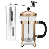 Kit Coffe Prensa Francesa & Moedor de Grãos DE Café - Clink