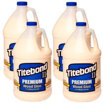 Kit Cola para Madeira II Premium Wood Glue - 6032723 - Titebond-4,1kg 4 Unidades -