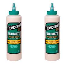 Kit Cola para Madeira III Ultimate Wood Glue-6004528-Titebond-473 ml 2 Unidades -