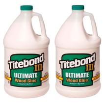 Kit Cola para Madeira III Ultimate Wood Glue -6021173 -Titebond-4,1kg-2 Unidades -