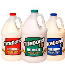 Kit Cola para Madeira Original + II Premium+ III Ultimate - Titebond -3Un- 4,1Kg -