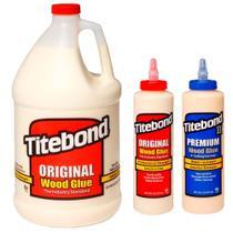 Kit Cola para Madeira Original + Premium 473 ml + Original 4,1 Kg -Titebond- 3Un -