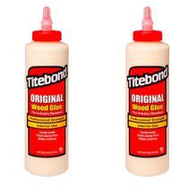 Kit Cola para Madeira Original Wood Glue- 6004530- Titebond- 473 ml - 2 Unidades -