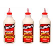Kit Cola para Madeira Original Wood Glue- 6004531- Titebond- 946 ml - 3 Unidades -