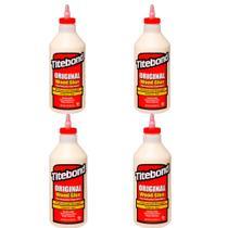 Kit Cola para Madeira Original Wood Glue- 6004531- Titebond- 946 ml - 4 Unidades -