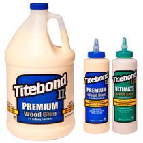 Kit Cola para Madeira Premium + Ultimate 473ml + Premium 4,1Kg - Titebond - 3 Un -