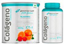 Kit Colágeno Hidrolisado Ct1 200g + Colágeno 90 Caps Nutri Science - Bodyaction