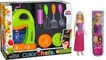 Kit Color Chef Batedeira com Barbie Princesa - Rignel