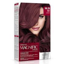 Kit Coloração Creme Amend Magnific Color 66.26 - Vermelho Marsala -