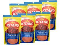 Kit Colorífico Kitano em Pó 80g - 6 Unidades