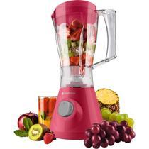 Kit Colors Batedeira Rosa e Roxa + Liquidificador Rosa e Roxo + Mixer Vermelho - Cadence