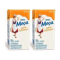 Kit com 02 Leite Condensado Moça Zero Lactose Nestlé -