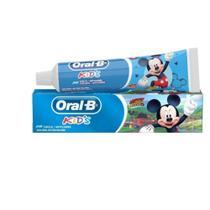 Kit com 03 Creme Dental Oral-B Mickey Mouse Criança Pasta -