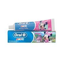 Kit com 03 Creme Dental Oral-B Minnie Disney Criança Pasta -