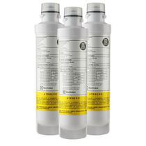 Kit Com 03 Refil De Agua Purificador Electrolux Pe11b Pe11x -
