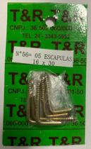 Kit com 05 escapulas 16x30 - T&R