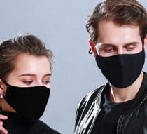 Kit com 05 Máscaras Para Proteção Em Tecido Lavável Unissex - Geral