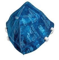 KIT COM 10 - 3M Máscara de Proteção Respiratória Respirador PFF-2 9820+BR AZUL - Selo Saúde e Inmetro Original -