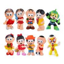 Kit com 10 Bonecos Mordedor Para Bebê Turma Da Mônica - La Toy