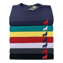 Kit com 10 Camisetas básicas gola careca Vira Lata Wear 100% Algodão 30.1 -