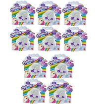 Kit com 10 Cloudees Mood Mini Personagem Surpresa Mattel GNC65 -