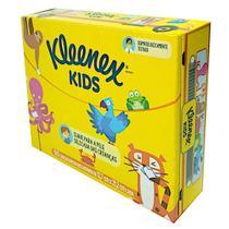 KIT COM 10 - Lenços de papel kleenex kids - 50 Unids cada -